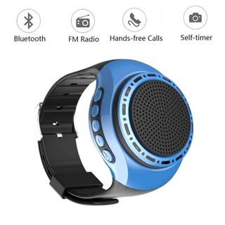 Đồng hồ thể thao Loa Bluetooth Thẻ MP3 Loa di động Mini Loa không dây Loa siêu trầm âm thanh nổi Bluetooth Loa đồng hồ