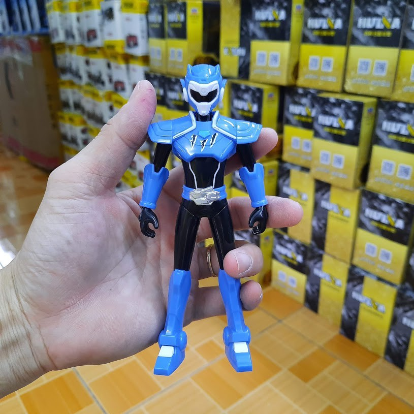 Siêu nhân Volt tốc độ và thiết bị biến hình siêu khủng long có âm thanh và đèn đồ chơi miniforce