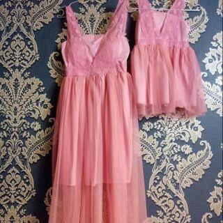 Set váy mẹ và bé