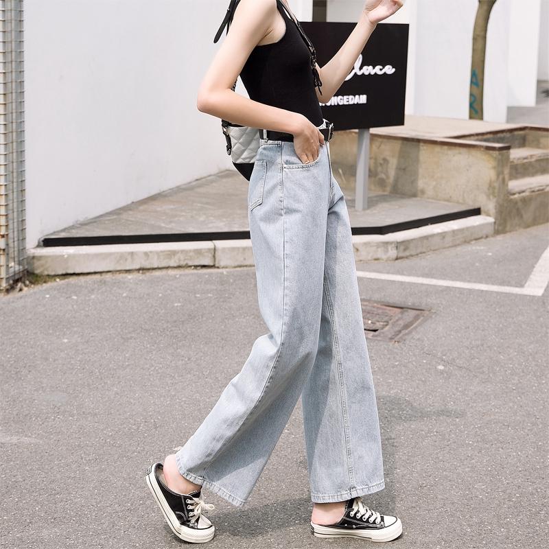 quần jeans nữ lưng cao ống rộng thời trang hàn - 14539409 , 2484223343 , 322_2484223343 , 298400 , quan-jeans-nu-lung-cao-ong-rong-thoi-trang-han-322_2484223343 , shopee.vn , quần jeans nữ lưng cao ống rộng thời trang hàn