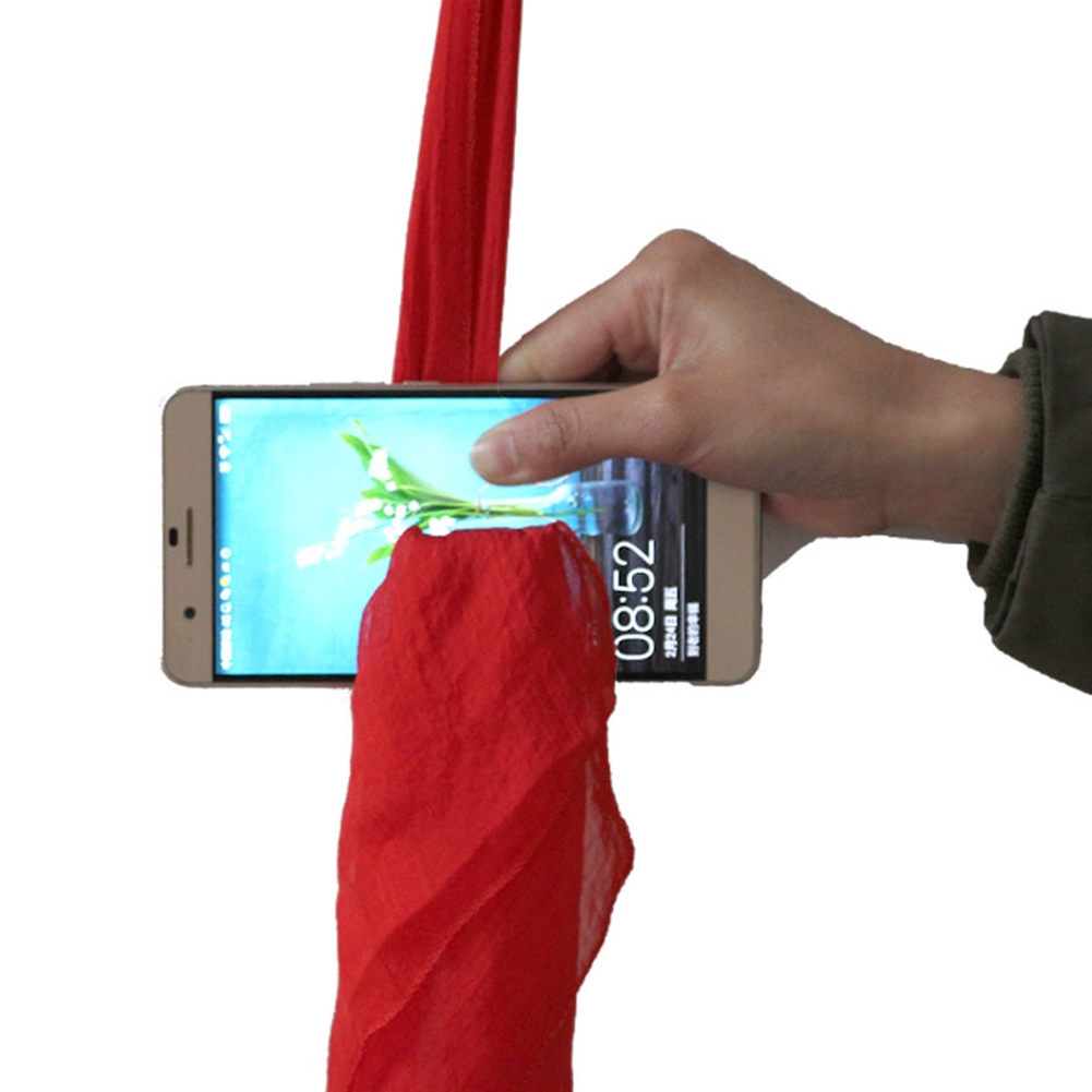 Lightweight Scarf Stage Magic Tools Through The Phone Prop For Magicians Tricks Trick Toys