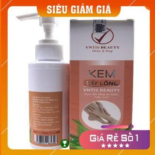 [Hàng Cao Cấp] – Combo Kem Tẩy Lông VNTIS Beauty Triệt Sạch Bất Chấp Các Loại Lông