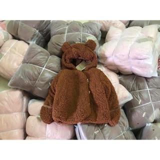 Áo gấu cho bé
