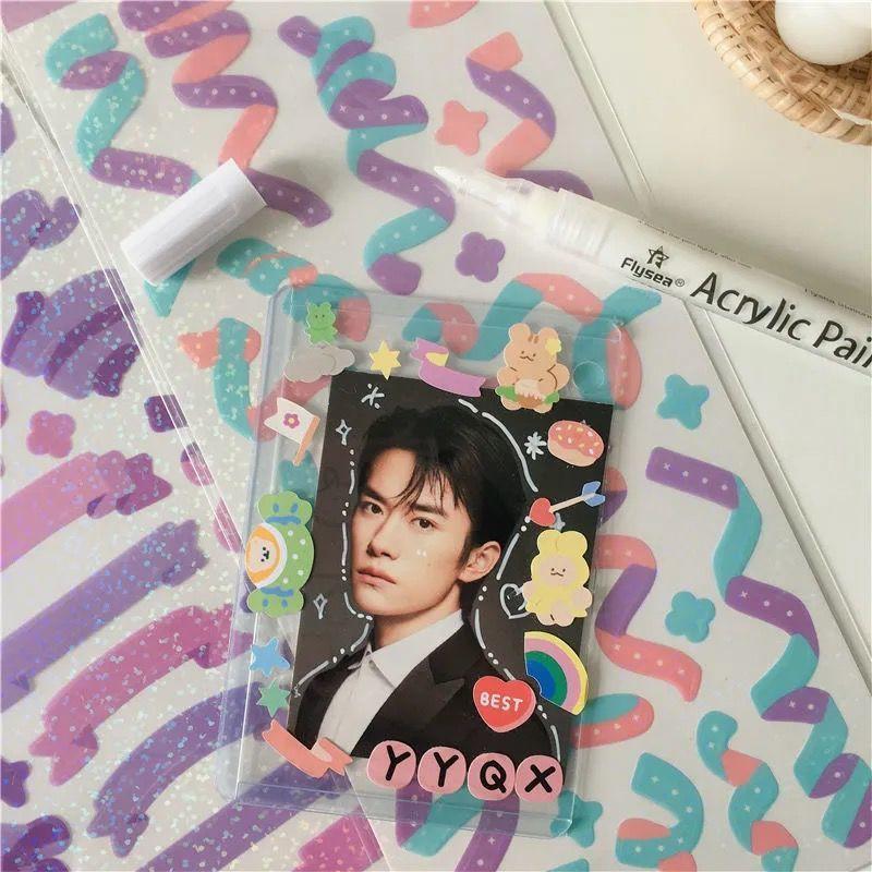 Toploader đựng card nhét ảnh kích thước B8 6,4x9cm bảo vệ card KPOP, thẻ bài ( Ngang)