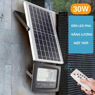 Đèn LED pha năng lượng mặt trời 30W