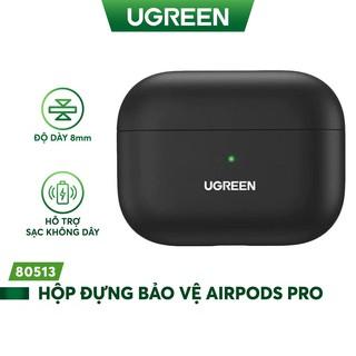 Hộp đựng bảo vệ chuyên dụng cho tai nghe Airpods Pro hỗ trợ sạc dây và không dây UGREEN LP324 80513