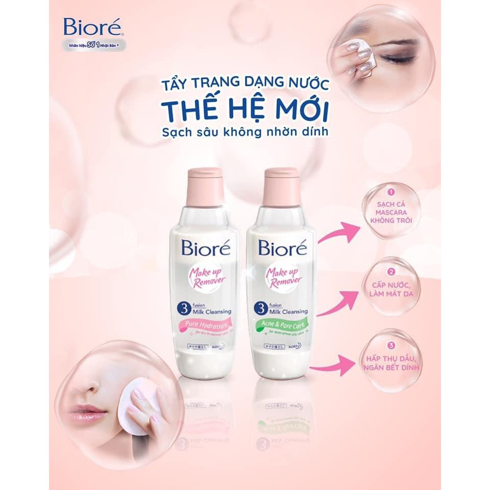 Sữa Tẩy Trang 3 Lớp Sạch Sâu Dưỡng Ẩm Bioré 300 ml | Shopee Việt Nam