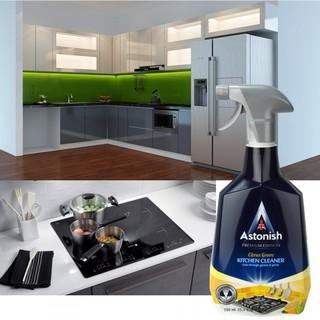 Tẩy dầu mỡ ASTONISH tẩy lưới hút mùi, tẩy bếp gas, bếp từ, xoong chảo cháy C6760_750ml .Sản xuất Tại Anh Quốc 7
