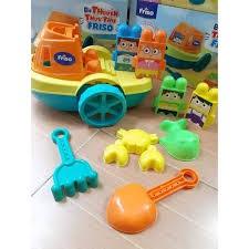 Bộ đồ chơi xúc cát cho bé quà tặng từ Friso