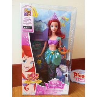 Búp bê nàng tiên cá Disney Princess Royal Celebration Ariel