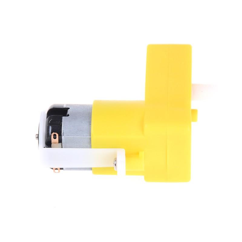 3-6V Bend of Uniaxial Gear TT Motor Deceleration Motor Gearbox DC Geared Motor