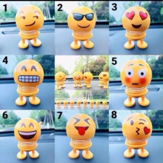 (Giá sập sàn).Emoji lò xo thứ vui cho cuộc sống.kèm video thật. hàng loại 1