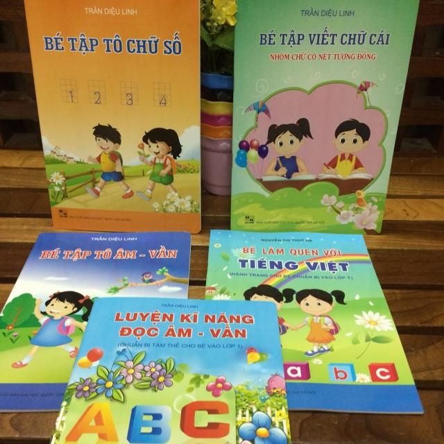 Combo 5 cuốn chuẩn bị cho bé vào lớp 1