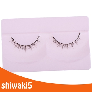 Bestdeal 2x DIY Doll False Eyelashes Strips For 1/4 BJD Dolls DIY Makeup Supplies