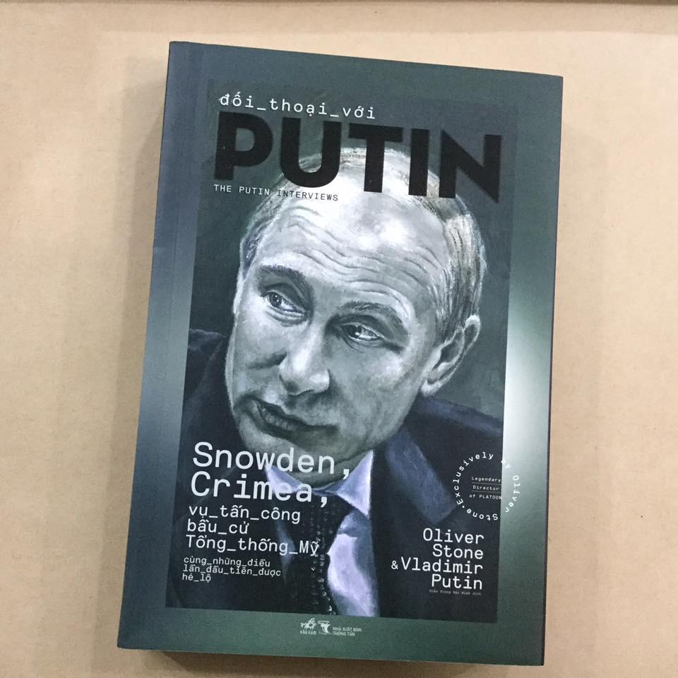 Sách - Đối Thoại Với Putin