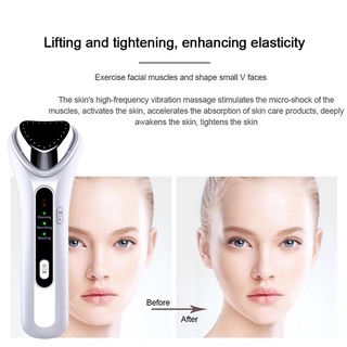 4 In 1 Facial Body Massager Cleanser Beauty Machine Device Ultrasonic Vibration Tool Skin Tools