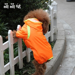 Áo mưa cho chó Teddy Quần nhỏ thú cưng Poncho Cún con Bốn chân mùa xuân hè Vận chuyển miễn phí thumbnail