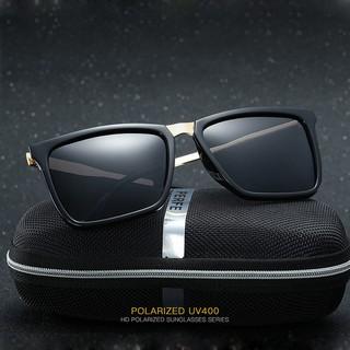 kính nam kính mát ⚡ FREESHIP ⚡ Giảm 10K khi Nhập [KINHNAM10] ⚡ Mắt kính thời trang Unisex PE309 – Tròng Polaroid