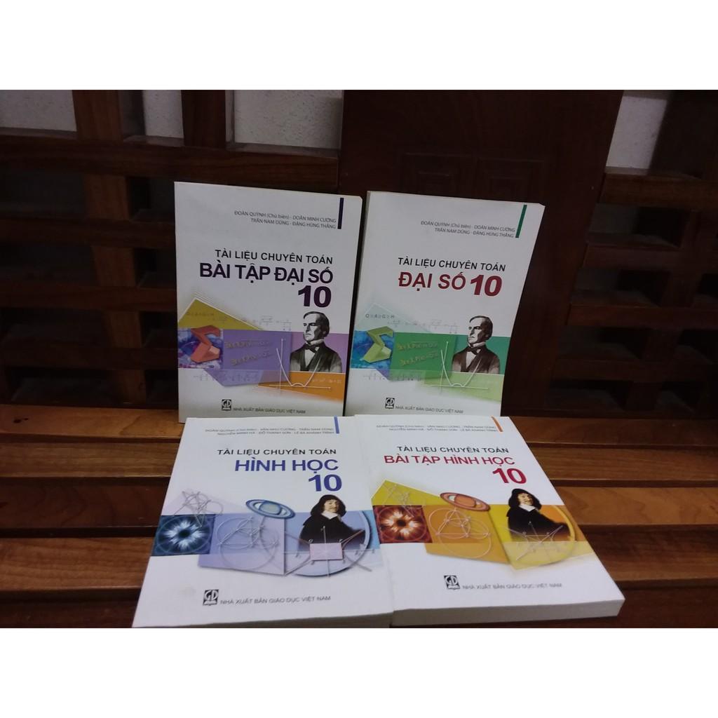 Sách - Tài liệu chuyên toán lớp 10 ( Sách + Bài tập ) trọn bộ 4 cuốn - 2154