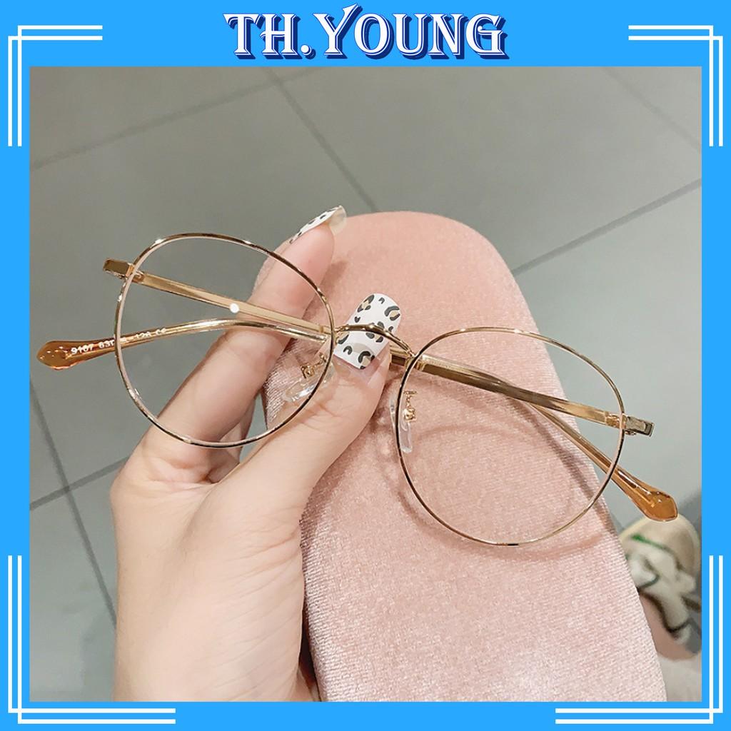 Gọng kính cận mắt tròn thời trang T9017 - Kính mắt