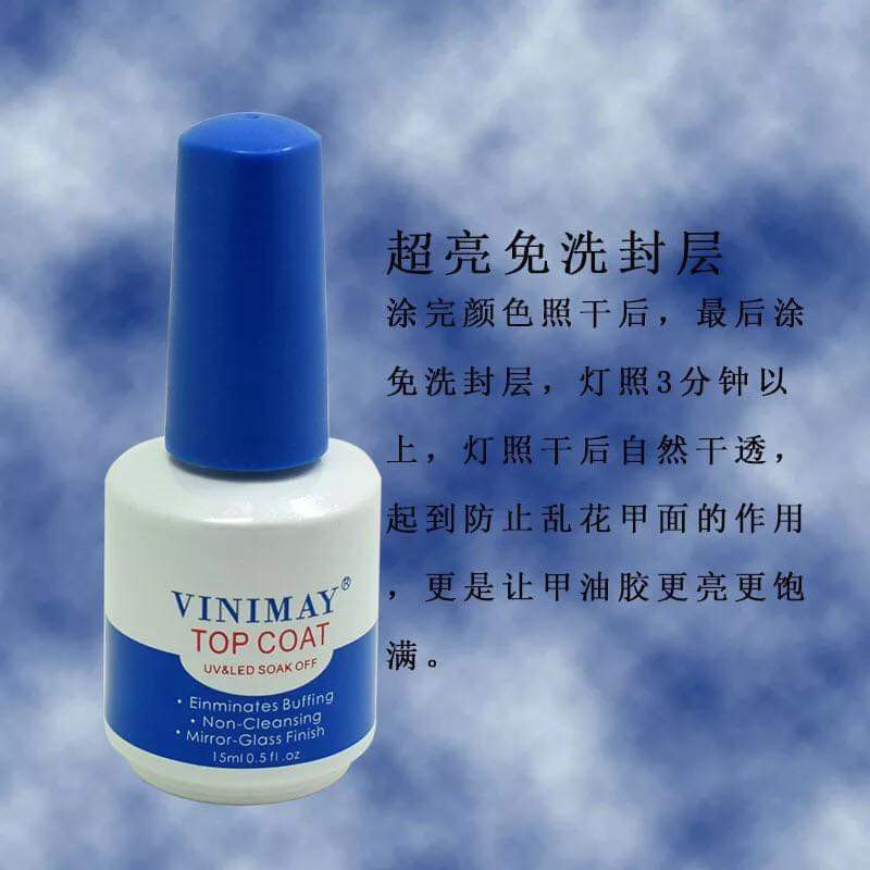 Base - Top - cứng móng - kiềm dầu - loang-lỳ Vinimay ( Chính hãng)