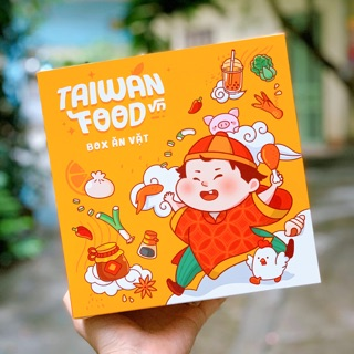 [Mã 159FMCGSALE giảm 8% đơn 500K] HỘP ĂN VẶT 20 MÓN TAIWAN FOOD VN