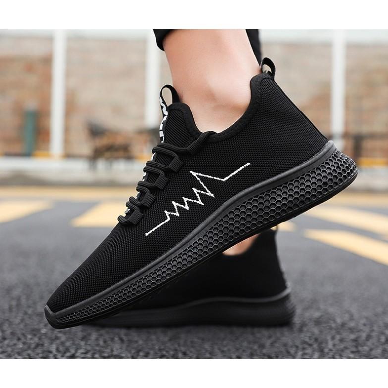 [giày nam ]thể thao mầu đen cá