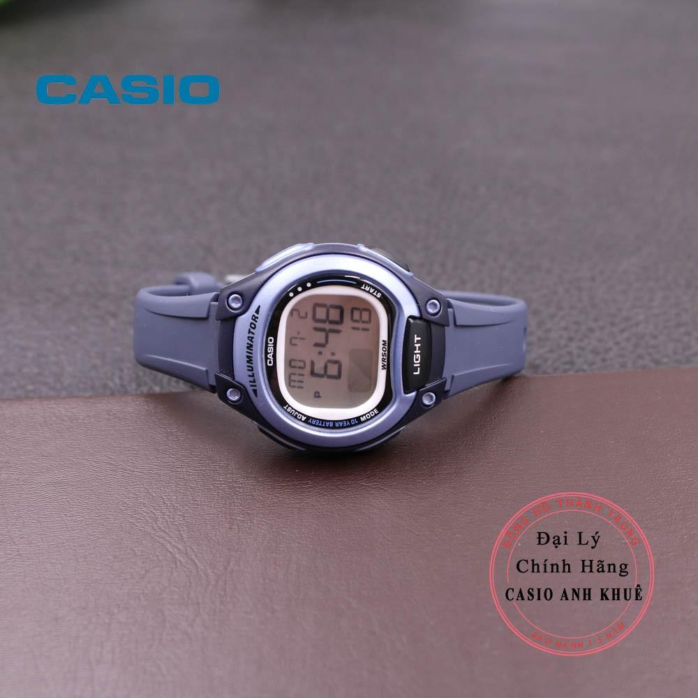 Đồng Hồ Nữ Casio LW-203-2AVDF Dây Nhựa Pin 10 Năm