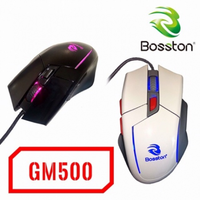 [SALE 10%] Chuột dây, mouse chuyên game Bosston GM500 led - 2403891 , 988258231 , 322_988258231 , 140000 , SALE-10Phan-Tram-Chuot-day-mouse-chuyen-game-Bosston-GM500-led-322_988258231 , shopee.vn , [SALE 10%] Chuột dây, mouse chuyên game Bosston GM500 led