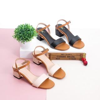 Hình ảnh [Nhập mã WS0606 giảm 20% tối đa 50K ] Giày Sandal Cao Gót 5cm Mix Nhiều Màu Pixie X476-3