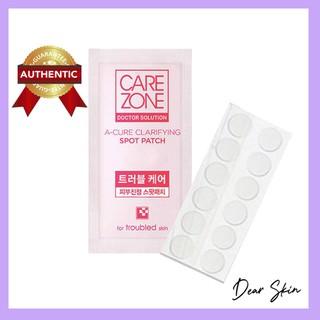 [1 gói] Miếng dán mụn Hàn Quốc thương hiệu Care Zone mỏng, trong suốt làm giảm mụn sưng đỏ và thâm thumbnail