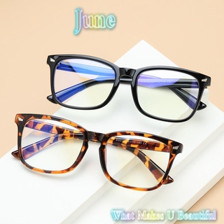 JUNE Unisex Office Computer Glasses Anti Glare Video Gaming Glasses Anti Blue Light Glasses Goggles Flexible Blue Light Blocking Anti Radiation Eyeglasses