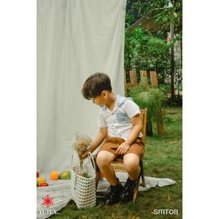 Sơ mi phối nón-SMT08