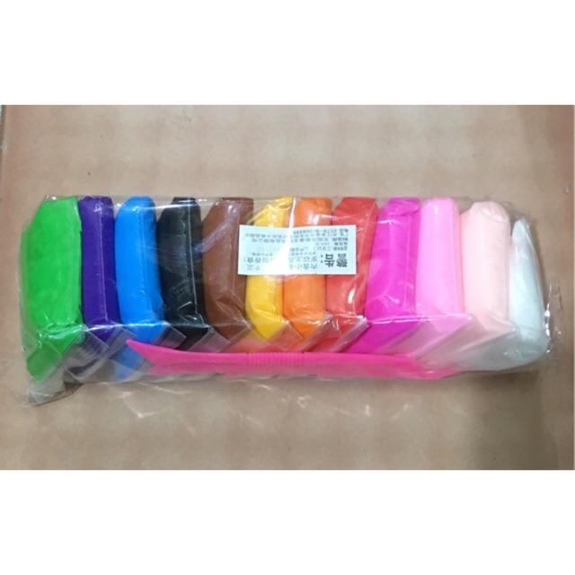 Combo 2 bịch Soft clay đất sét nhật loại đẹp 12 mầu Nguyên liệu làm slime - 3501178 , 818565052 , 322_818565052 , 65000 , Combo-2-bich-Soft-clay-dat-set-nhat-loai-dep-12-mau-Nguyen-lieu-lam-slime-322_818565052 , shopee.vn , Combo 2 bịch Soft clay đất sét nhật loại đẹp 12 mầu Nguyên liệu làm slime