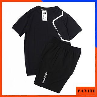 Yêu ThíchQuần áo thể thao đồ bộ nam mặc nhà mùa hè thun lạnh BTT13