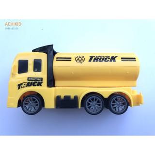 Đồ chơi xe ô tô Truck xinh xắn màu vàng có bánh đà cho bé giá rẻ siêu ưu đãi 4