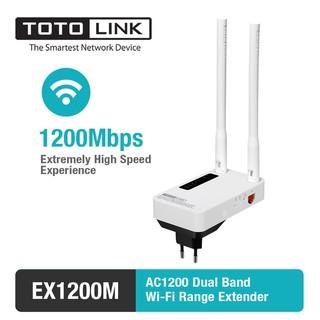 EX1200M – Mở rộng sóng Wi-Fi băng tần kép AC1200 TOTOLINK