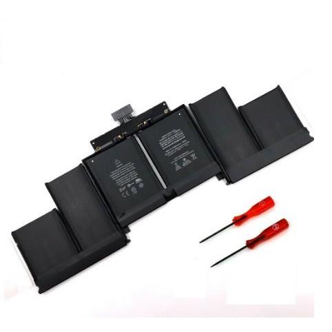 """Pin macbook zin A1618 Pro Retina 15"""" A1618 A1398 2015 Battery Fr MacBook Pro 15 A1398 Retina Mid 2015 MJLQ2LL/A MJLT2L/A"""