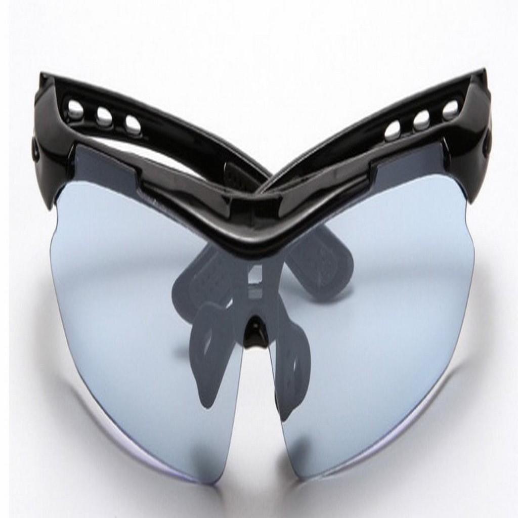 Bộ mắt kính 5 tròng bảo hộ đi đường (Gọng đen) chất lượng