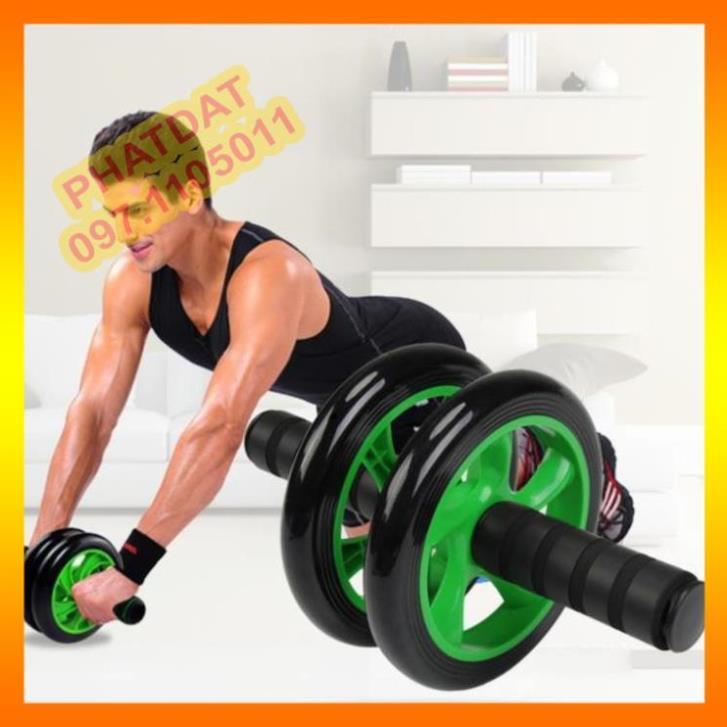 Máy tập bụng giảm cân đốt mỡ bụng hiệu quả tập gym tại nhà -bánh xe tập bụng