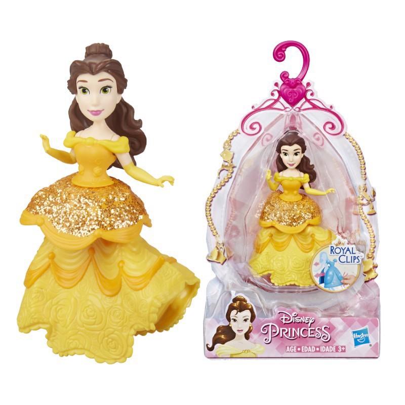 Đồ chơi Hasbro búp bê công chúa Belle mini Disney Princess E3085
