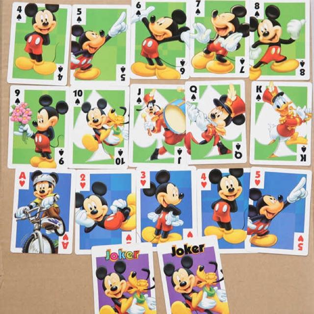 Bộ bài hoạt hình Mickey - Pooh - Disney