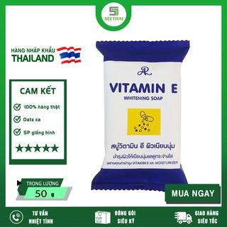 [HÀNG CHÍNH HÃNG] Xà Bông Vitamin E Trắng Da Thái Lan 50g ( Date 2024 )