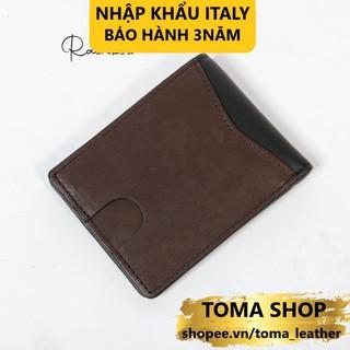 Ví nam da bò Nappa cao cấp nhập khẩu từ Ý Rainbow W013A – Ngăn bí mật chống trộm