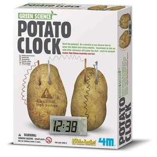 Đồ chơi khoa học: Bộ kit đồng hồ khoai tây 4M cho trẻ từ 8 đến 15 tuổi