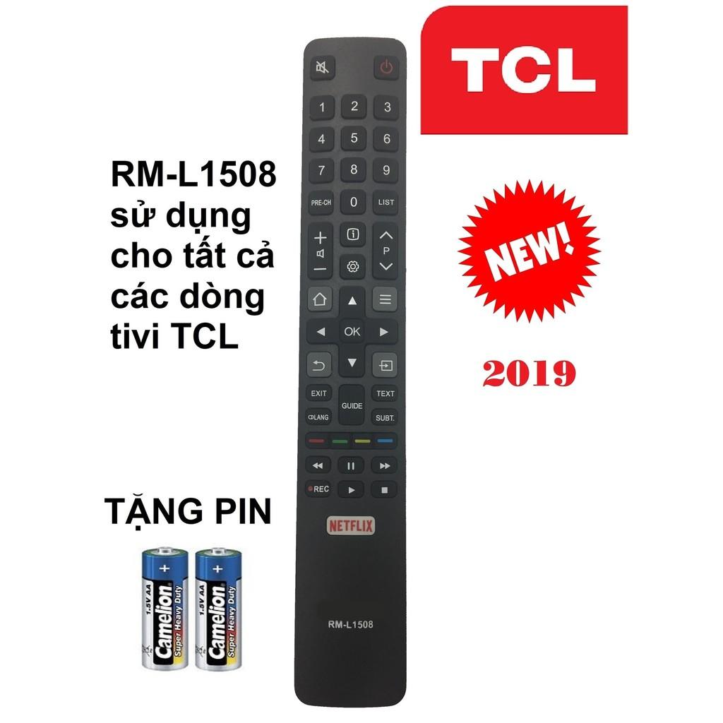 REMOTE ĐIỀU KHIỂN TIVI TCL SMART RM-L1508 CHO TẤT CẢ CÁC DÒNG TIVI TCL