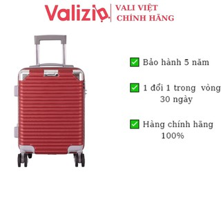 Vali kéo chống va đập siêu bền, Vali du lịch tay kéo nhôm không rỉ sét VALIZIO 841 thumbnail