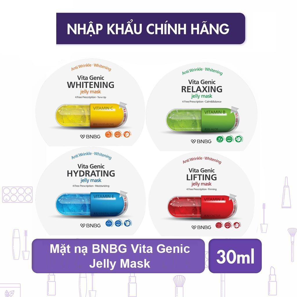 Lẻ 1 Miếng Mặt Nạ Giấy BNBG Vita Genic Jelly Mask Chính hãng
