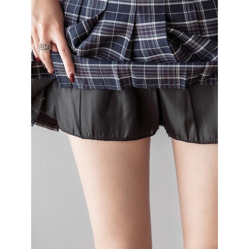 Chân váy tennis kẻ caro hàng Quảng châu loại 1, chân váy xếp ly lưng cao phong cách Hàn Quốc- M912