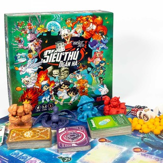Boardgame Thẻ Bài Lớp học Mật ngữ - Siêu Thú Ngân Hà - Trò chơi gia đình nhập vai cung hoàng đạo thu phục siêu thú
